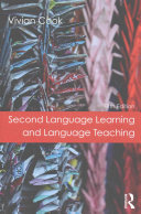 Cover of Second Language Learning and Language Teaching