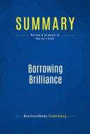 Summary  Borrowing Brilliance