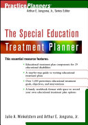 The Special Education Treatment Planner Pdf/ePub eBook