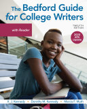 The Bedford Guide for College Writers with Reader APA Reprint