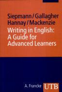 Writing in English
