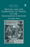 Britain and the Narration of Travel in the Nineteenth Century