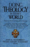 Doing Theology In Today S World