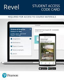 Revel for Visions of America Access Card Book PDF