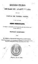 Derrotero de las islas Antillas, de las costas de Tierra Firme, y de las del seno Megicano