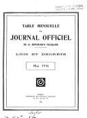 Journal officiel de la République française. Édition des lois et décrets