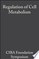 Regulation of Cell Metabolism
