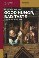 Good Humor, Bad Taste Pdf/ePub eBook