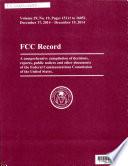FCC Record Book