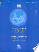 Monthly Bulletin Of Statistics April 2010