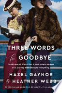 Three Words for Goodbye Book