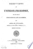 Brief Views of United States History