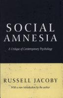 Pdf Social Amnesia