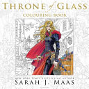 The Throne of Glass Colouring Book Book