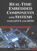 Real Time Embedded Components and Systems with Linux and Rtos Book
