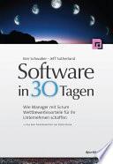 Software in 30 Tagen  : Wie Manager mit Scrum Wettbewerbsvorteile für ihr Unternehmen schaffen