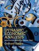 Dynamic Economic Analysis