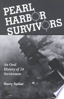 Pearl Harbor Survivors Book