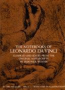 Pdf The Notebooks of Leonardo da Vinci Telecharger