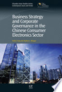 Business Strategy and Corporate Governance in the Chinese Consumer Electronics Sector Book