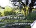 Cómo pintar paisajes a la acuarela