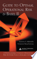 Guide to Optimal Operational Risk and BASEL II Book