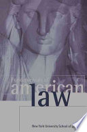 """Fundamentals of American Law"" by Alan B. Morrison, New York University. School of Law, William J. Brennan"