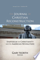 Symposium on Christianity and the American Revolution (JCR Vol. 03 No. 01)