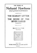 The scarlet letter  The house of the seven gables  a romance