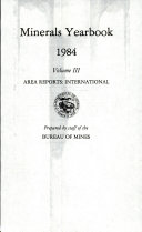 Pdf Minerals Yearbook
