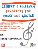 Gilbert and Sullivan Favorites for Voice and Guitar Pdf/ePub eBook
