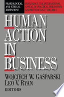 Human Action in Business