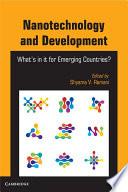 Nanotechnology and Development Book