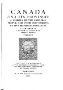 Canada and Its Provinces  New France 1534 1760 Book PDF