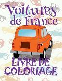 Voitures de France Livres de Coloriage