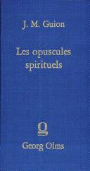 Pdf Les opuscules spirituels Telecharger