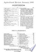 Agricultural Review and Journal of the American Agricultural Association