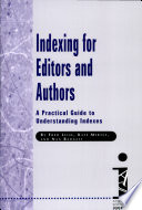 Indexing For Editors And Authors Book PDF