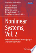 Nonlinear Systems, Vol. 2