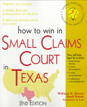 How To Win In Small Claims Court In Texas