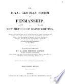 The Royal Lewisian System of Penmanship