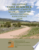 The Available Coal Resource for Eight 7.5-minute Quadrangles in the Alton Coalfield, Kane County, Utah