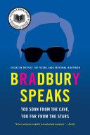 Pdf Bradbury Speaks Telecharger