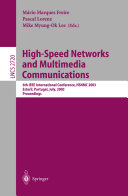 High Speed Networks and Multimedia Communications