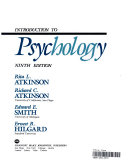 Cover of Introduction to psychology