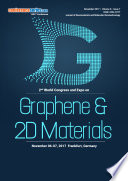 Proceedings of 2nd World Congress and Expo on Graphene & 2D Materials 2017