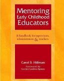 Mentoring Early Childhood Educators