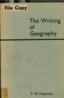 The Writing of Geography