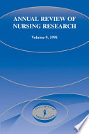 Annual Review Of Nursing Research Volume 9 1991