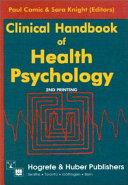 Clinical Handbook of Health Psychology